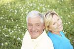 coppia, anziani, coppia felici